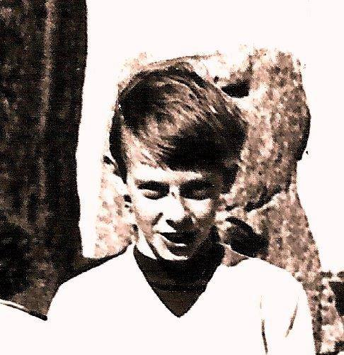 Peter Murphy Aged 10 on a family trip to Stonehenge