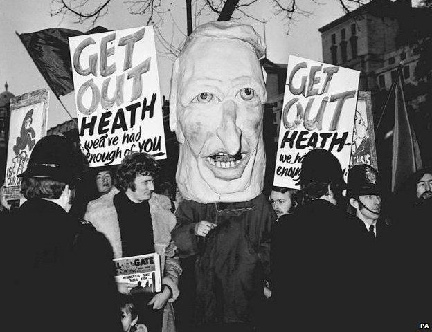 Protests against Edward Heath and the Conservative Party in early 70s Britain were just one starting point for the rise of punk rock