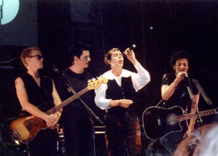 Bauhaus during the Resurrection Tour in 1998