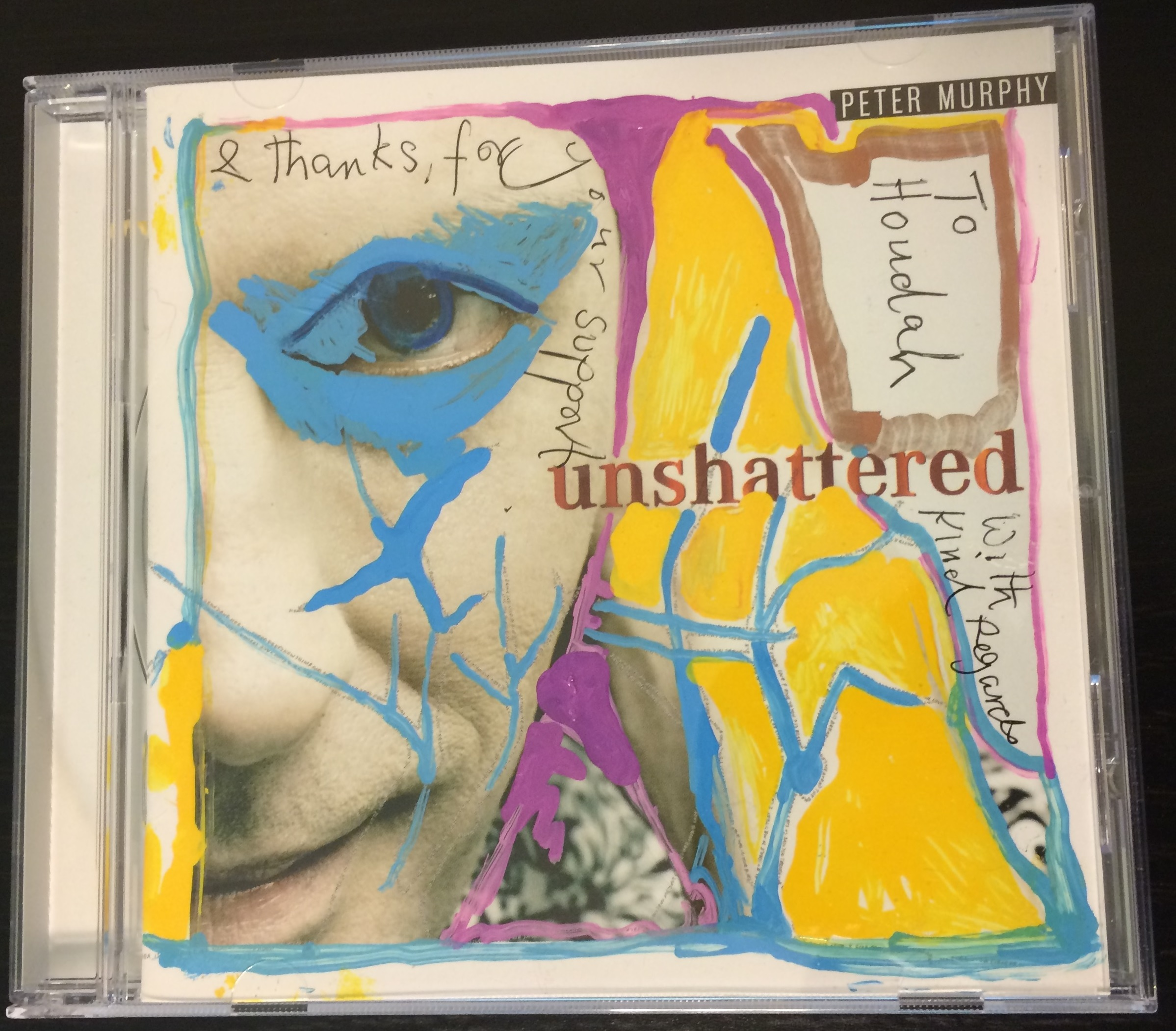 Unshattered Art CD