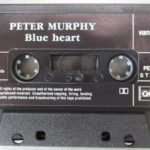 Peter Murphy Blue Heart CA Cassette Tape 1986 A Side