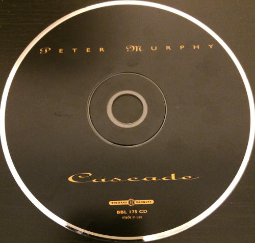 Peter Murphy Cascade UK CD 1995 2nd CD