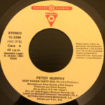 "Peter Murphy Deep Tour Sampler ES 7"" Promo 1990 A Label"