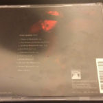 Peter Murphy Dust US CD 2002 Back Cover