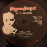 "Peter Murphy Indigo Eyes UK 7"" 1988 A Label"