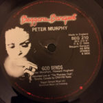 "Peter Murphy Indigo Eyes UK 7"" 1988 B Label"