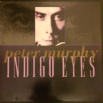 "Peter Murphy Indigo Eyes UK 7"" 1988 Front Cover"