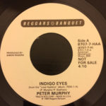 "Peter Murphy Indigo Eyes US 7"" Promo 1988 B Label"