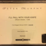 Peter Murphy I'll Fall With Your Knife US CD Promo 1995 Back Cover