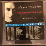 Peter Murphy I'll Fall With Your Knife US CD Promo 1995 Front Cover