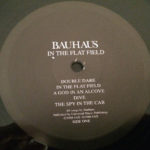 "Bauhaus In The Flat Field UK 12"" + CD 2013 A Label"