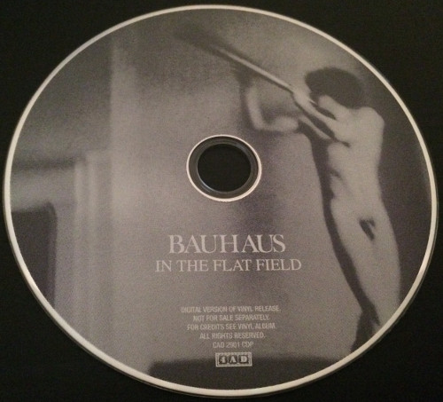 "Bauhaus In The Flat Field UK 12"" + CD 2013 CD"
