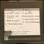 Bauhaus Live In The Studio 1979 UK CD 1997 Back Cover