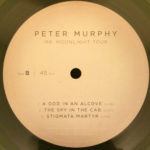 "Peter Murphy Mr. Moonlight Tour: 35 Years Of Bauhaus US 10"" 2014 B Label"