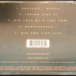 Peter Murphy Recall US CD 1998 Back Cover