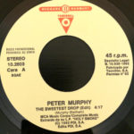 "Peter Murphy The Sweetest Drop ES 7"" Promo 1992 A Label"