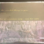 Peter Murphy The Scarlet Thing In You US CD Promo 1995 Back Cover